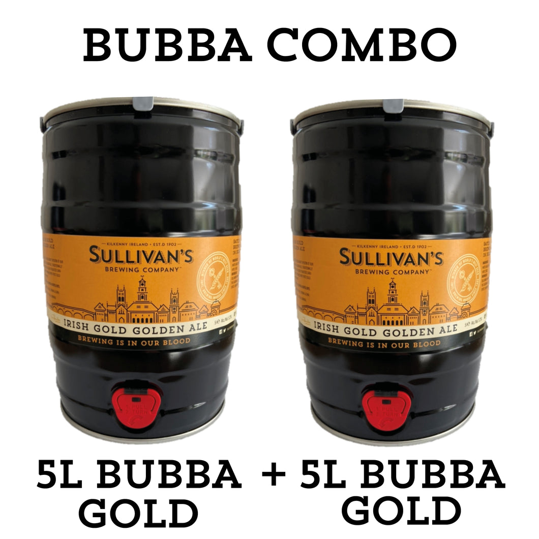 Gold Bubba (Golden Ale 5L Mini Keg) - Combo Packs
