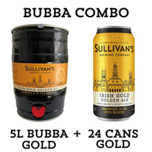 Load image into Gallery viewer, Gold Bubba (Golden Ale 5L Mini Keg) - Combo Packs