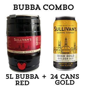 Red Bubba (Red Ale 5L Mini Keg) - Combo Packs