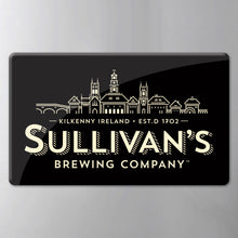 Load image into Gallery viewer, Sullivan's Classic Black Logo Fridge Magnet