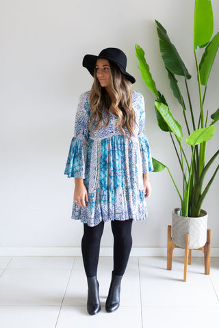 Alpine Bell Sleeve Tunic