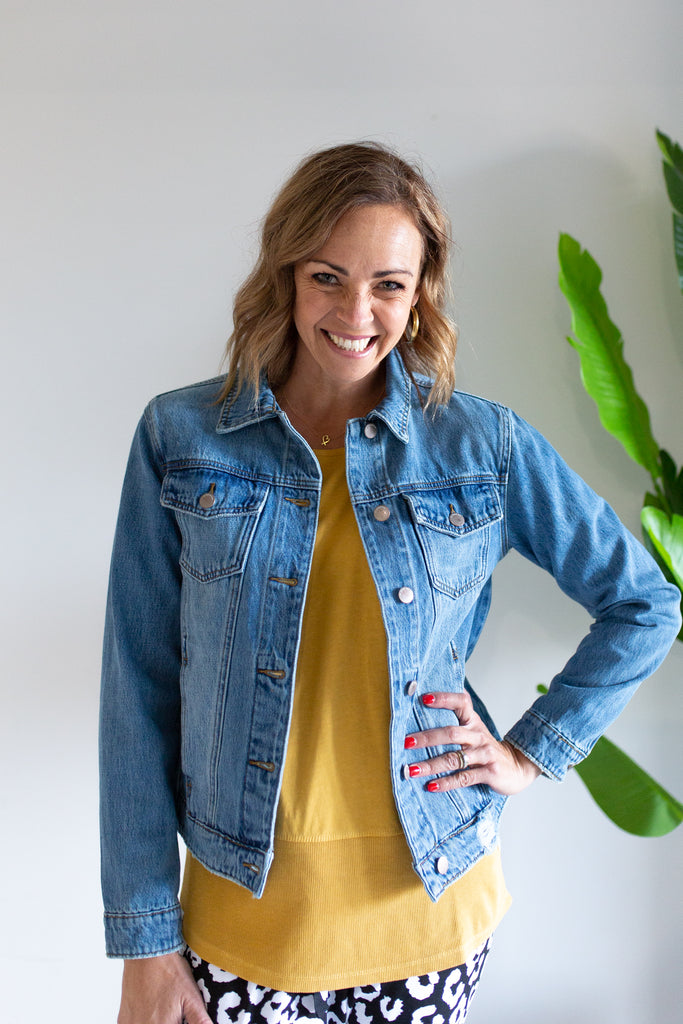 Mazie Denim Jacket