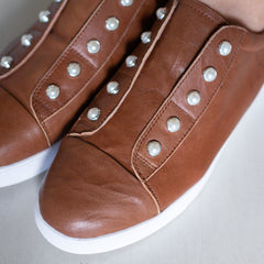 Pearl Shoe - Tan