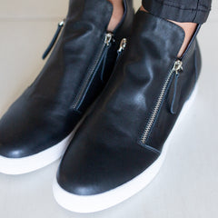 Capri Shoe - Black Smooth