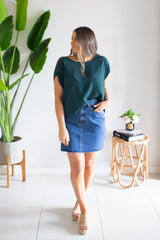 Mischa Denim Skirt