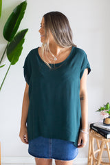 Dream Away Top - Emerald
