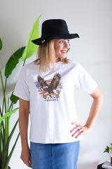 Take Flight Tee- White