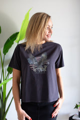 Take Flight Tee- Black