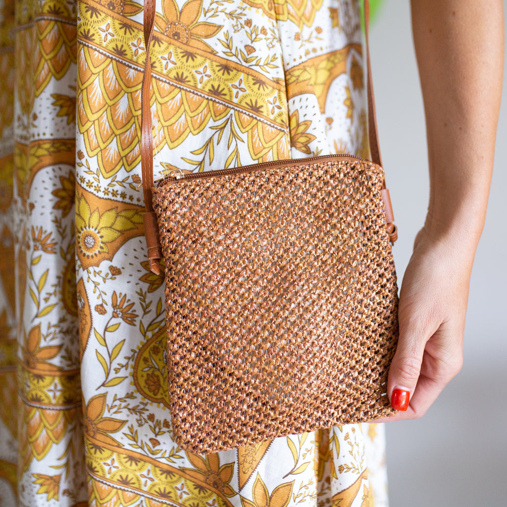 Summer Sling Bag - Natural Tan
