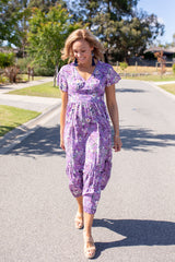 Purple Princess Maxi Dress