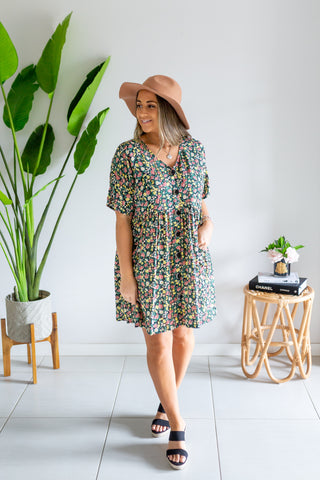 Box Pocket Dress - Sunshine