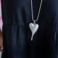 Love Actually Necklace - Silver