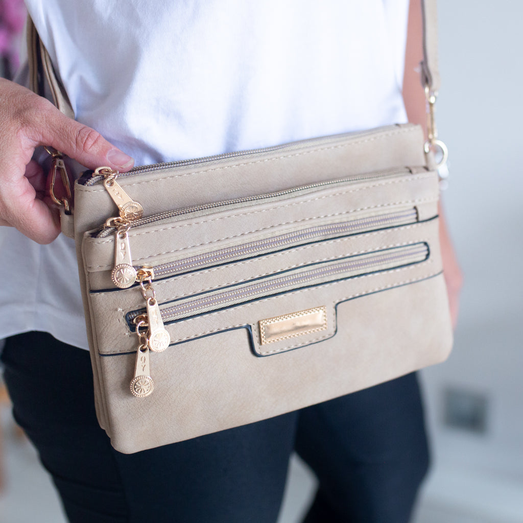 Lucy Sling Bag - Natural Taupe