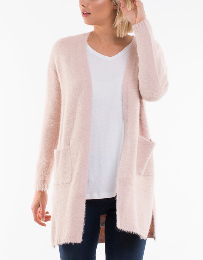 Cosy Cardi - Pink