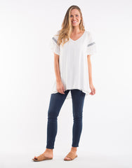 Bliss Top - White
