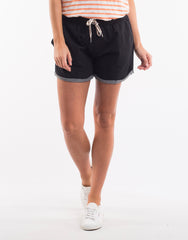 Navigator Short-  Washed Black