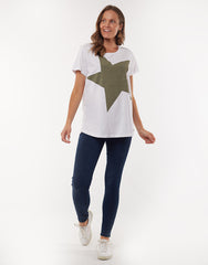 Superstar Tee- Khaki