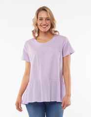 Lu Lu Layer Top- Lilac
