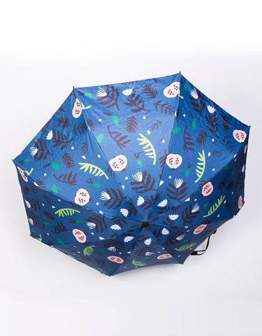 Umbrella- Blue Floral