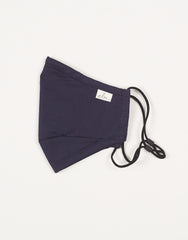 Elm Face Mask - Navy Plain