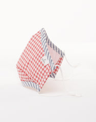 Elm Face Mask - Red Gingham