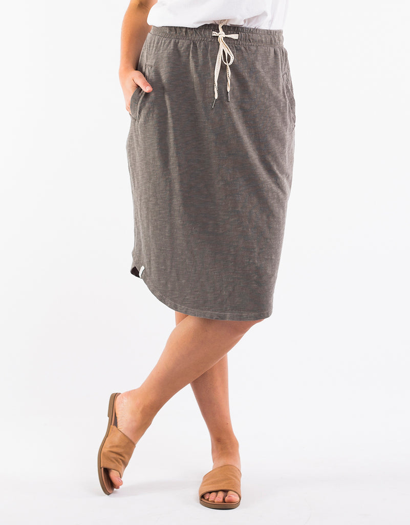 Fundamental Isla Skirt - Khaki