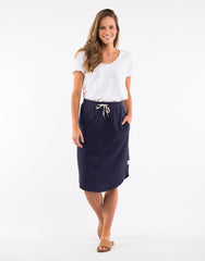 Fundamental Isla Skirt - Navy