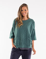 Mazie Sweat - Green