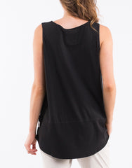 Rib Tank - Washed Black