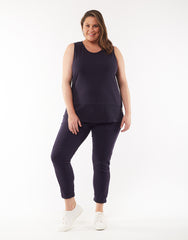 Fundamental Rib Tank - Navy