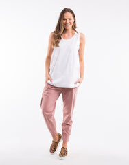 Fundamental Rib Tank - White