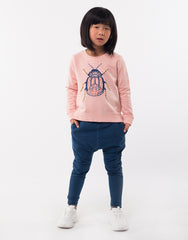 Bridgette Beetle Crew - Pink Mini