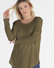 Megan Top- Khaki