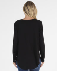 Megan Top- Black