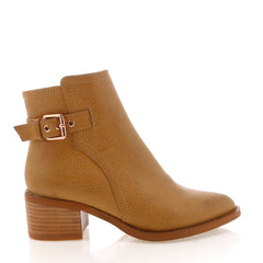 Elira Boot- Tan Tumble
