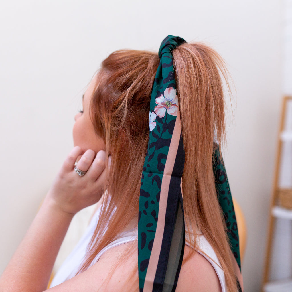 Head Scarf- Green