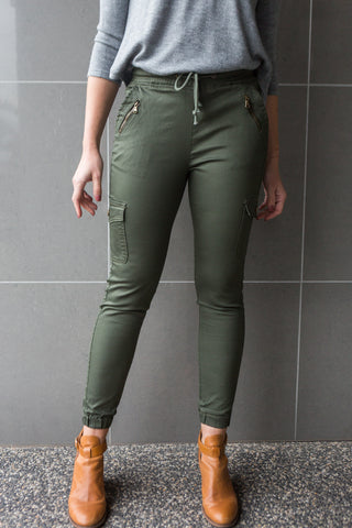 Billy Cargo Jean - Khaki