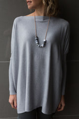 Bailey Oversized Knit - Grey