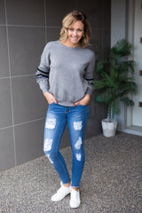 Aspen Jumper- Grey