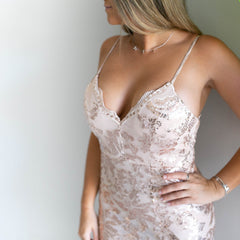 Sequin Glamour Dress