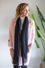 Plain Scarf - Black