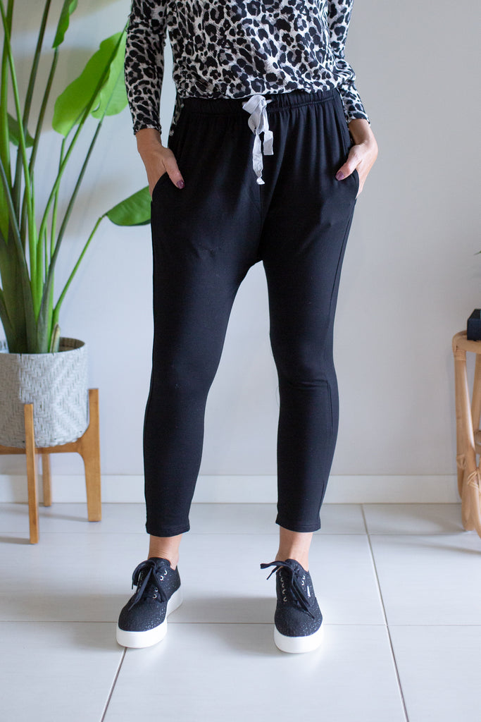 Slinky Stretch Pant - Black