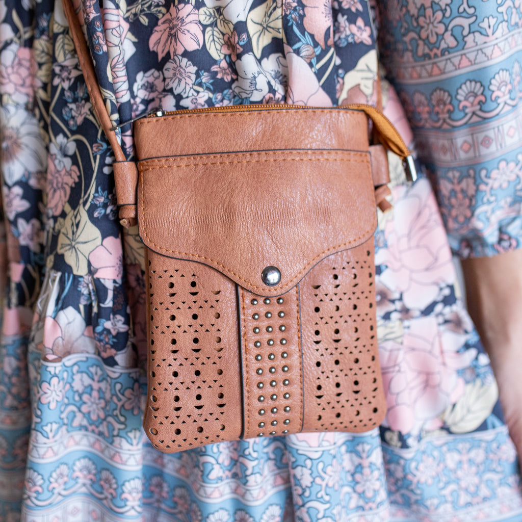 Faith Sling Bag - Tan