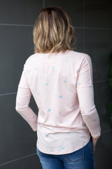This Way L/S Top - Pink