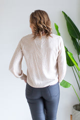 Taupe Front Knot Top