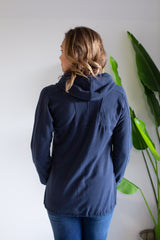 Modernist Zip Jacket - Navy