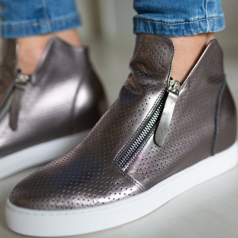 Biarittz Shoe - Pewter