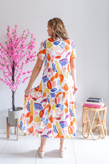 Drop Hem Dress- Mykonos