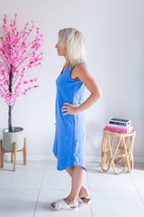 Annika Dress - Blue
