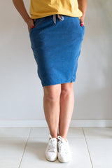 Circumnavigation Skirt - Denim